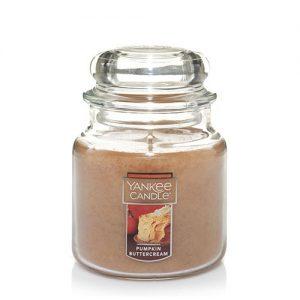 Pumpkin Buttercream Medium Jar Candle