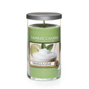 Vanilla Lime Medium Perfect Pillar Candles