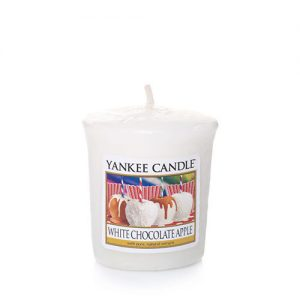 White Chocolate Apple Samplers Votives Candle