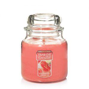 Strawberry Lemon Ice Medium Jar Candle
