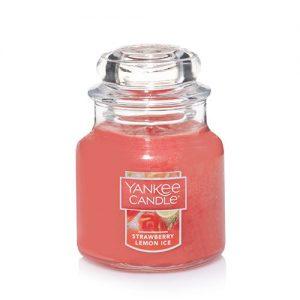 Strawberry Lemon Ice Small Jar Candle