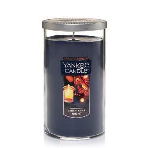 Crisp Fall Night Medium Perfect Pillar Candle