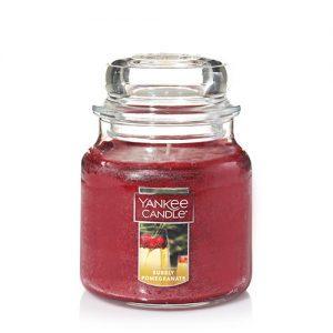 Bubbly Pomegranate Medium Jar Candle